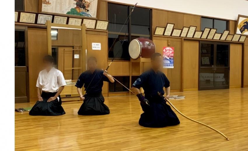 10月26日井原デニムストリートオープンフェス(弓道体験)