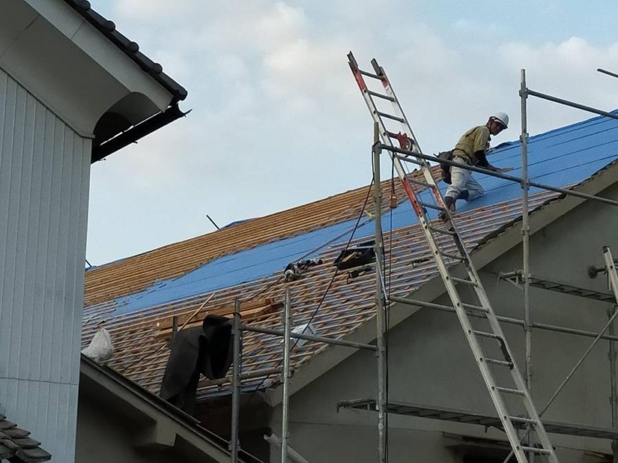 屋根の修理その3