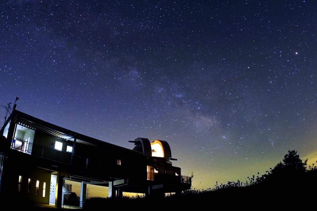 星空保護区の取り組みのテレビCM