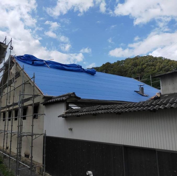 屋根修理その4