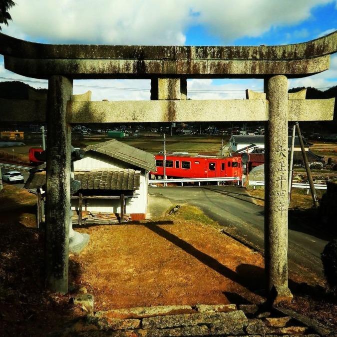 JR福塩線『ワイン列車』
