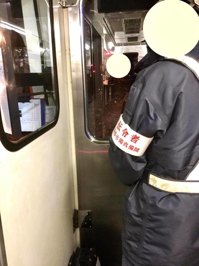 列車救援訓練