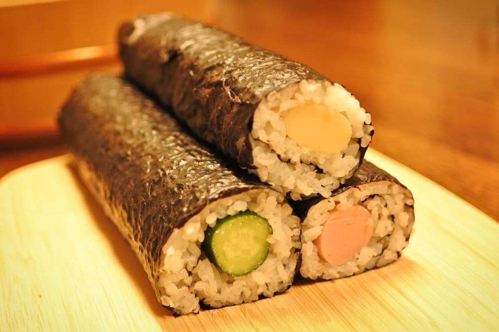 【かんたん巻き寿司】