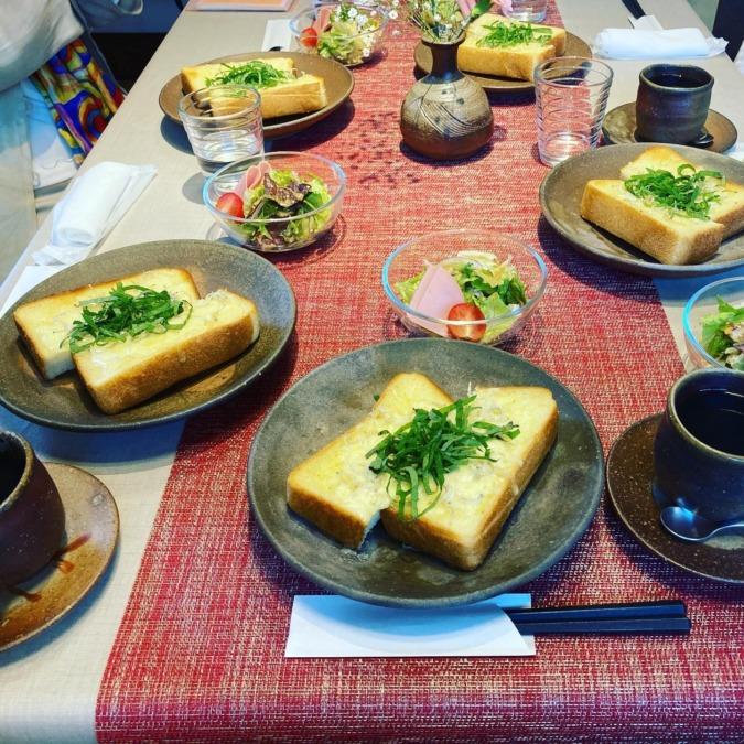 鯉屋珈琲でじゃこチーズトースト!